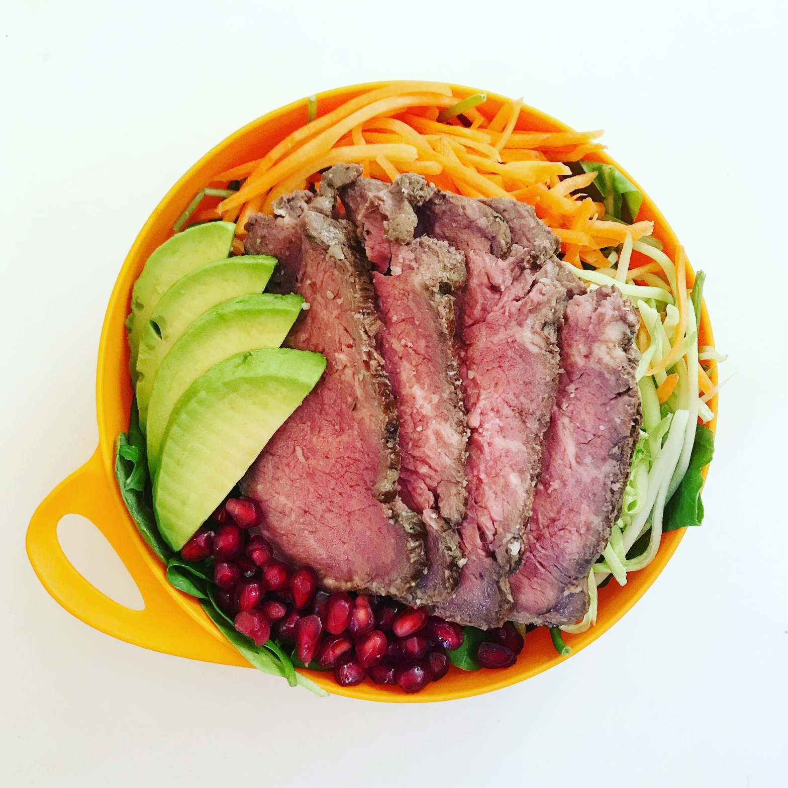 triple peak paleo the super power work salad