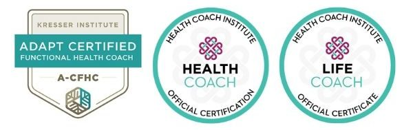 ellen Jaworski's health coaching and life coaching credentials