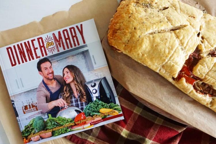 Dinner for Mary Cookbook Stromboli Recipe
