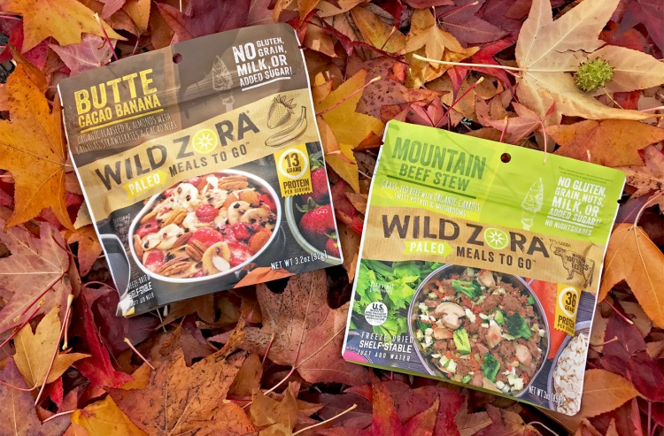 wild zora paleo meals to go on red and orange leaves