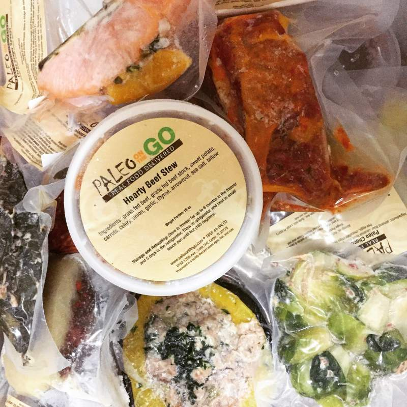 Paleo on the Go Paleo Meal Delivery Service